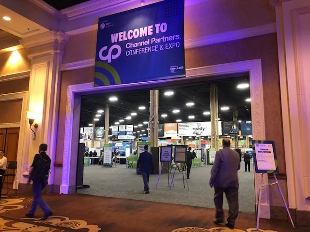 Peerless Network at Channel Partners Conference and Expo in Las Vegas.